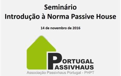Introdução à Norma Passive House