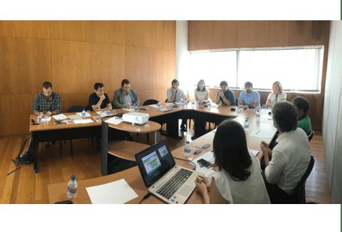 Reunião técnica do projeto C-Track 50