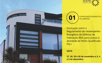 Formação em Eficiência Energética em Edifícios de Habitação
