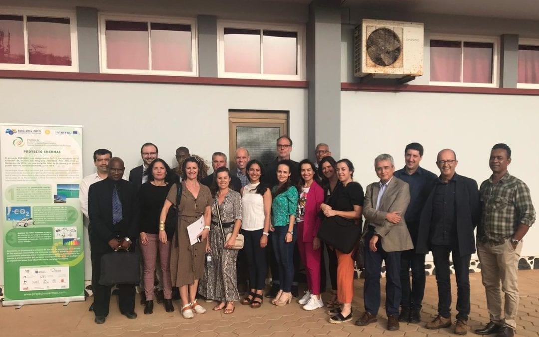 ENERMAC–3ªReunião técnica do projeto no Mindelo