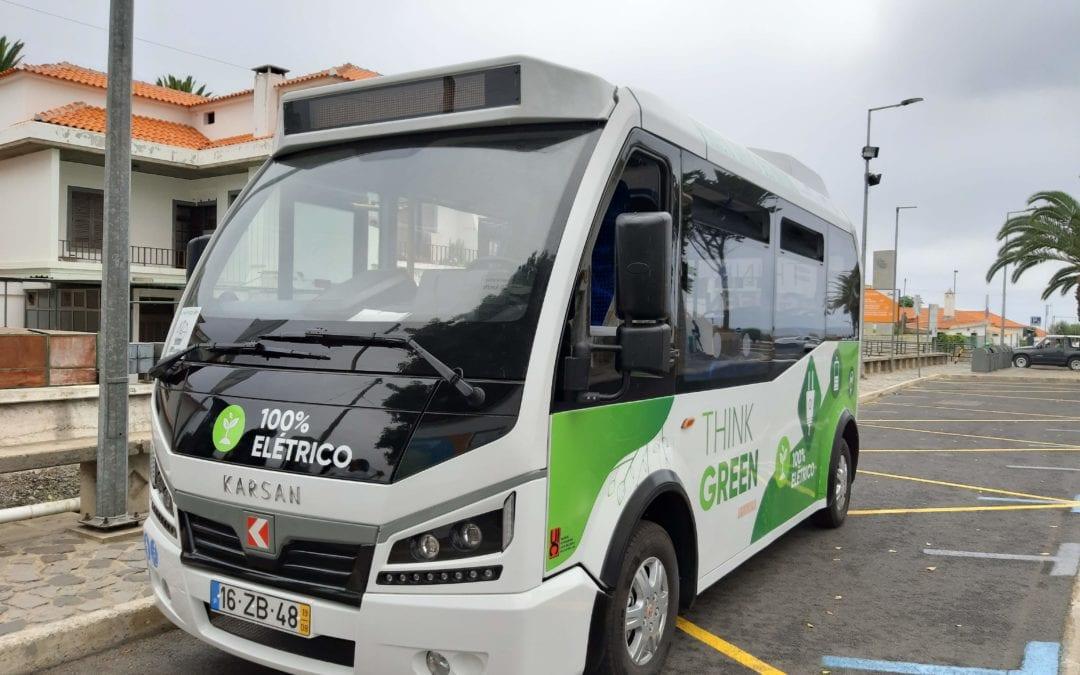 Experiência de miniautocarro elétrico no Porto Santo