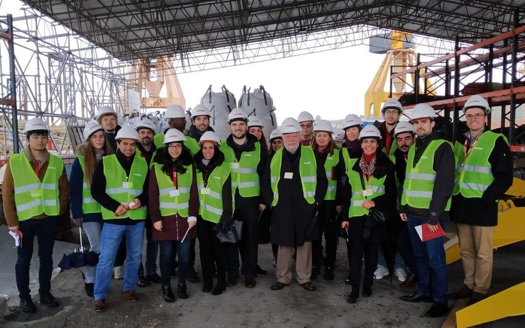 ARCWIND – 4ª Reunião técnica do projeto e visitas técnicas à SAITEC Offshore Technologies e Vicinay Marine