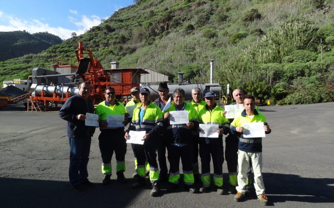 Ações de sensibilização sobre eficiência energética-Central de Britagem e Betão Betuminoso do Porto Novo