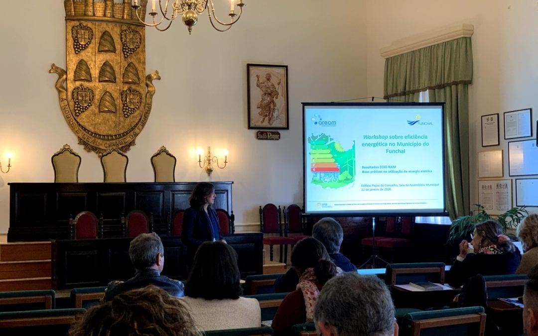 Workshop sobre eficiência energética no Município do Funchal