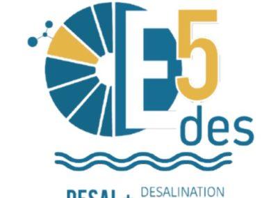 E5DES-Investigação e inovação com vista à eficiência tecnológica, uso de energias renováveis,tecnologias emergentes e economia circular na dessalinização