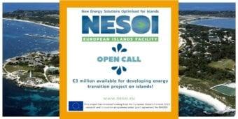 European Island Facility NESOI lança a 1ª Call